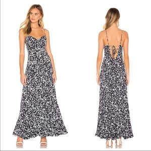 Free People Under the Moonlight Floral Maxi Dress